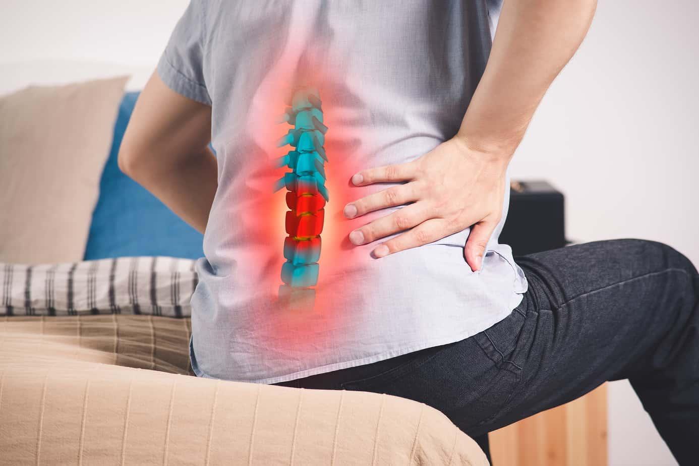 Ernia disco mal di schiena